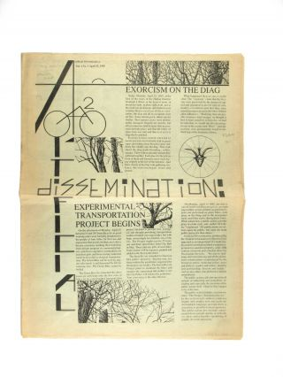 Artificial Dissemination, Vol. 1, No. 1, April 15, 1985 [All Published]. University of Michigan,...