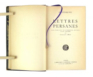 Lettres persanes [Persian Letters]