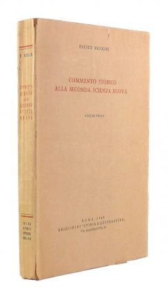 Commento Storico alla Seconda Scienza Nuova [Historic Commentary on Vico's New Science] (Volume...