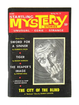 """""""The Reaper's Image"""" Startling Mystery Stories - Vol. 2 No. 6 (whole No. 12), Spring 1969 [Signed, Second professional publication / First Cover]"""