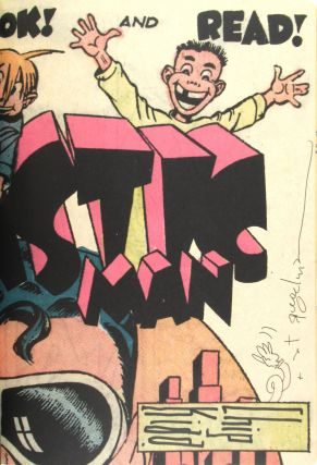 Jack Cole and Plastic Man: Forms Stretched to Their Limits [Signed by Both]