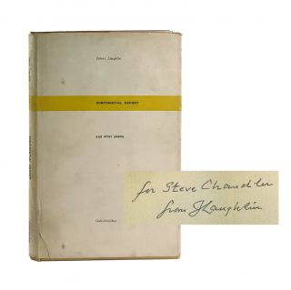 Confidential Report and Other Poems [Inscribed and Signed to Steve Chandler with Original...