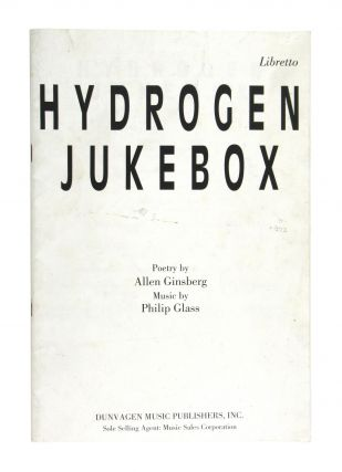 Hydrogen Jukebox. Allen Ginsberg, Philip Glass
