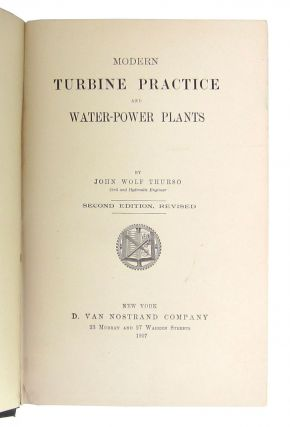 Modern Turbine Practice and Water-Power Plants