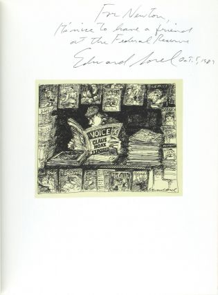 Superpen: The Cartoons and Caricatures of Edward Sorel [Signed]