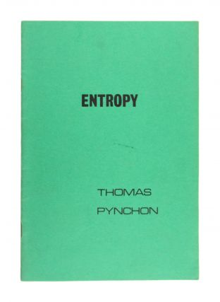 Entropy. Thomas Pynchon
