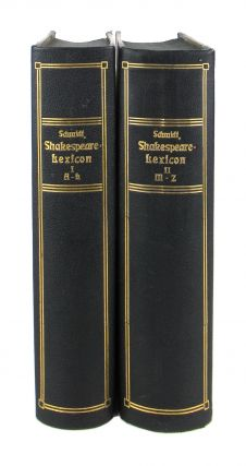 Shakespeare-Lexicon: A complete dictionary of all the English words, phrases, and constructions in the works of the poet