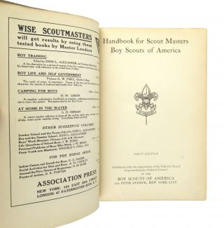 Handbook for Scout Masters / Boy Scouts of America