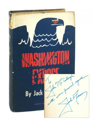 Washington Expose [Inscribed and Signed]. Jack Anderson