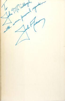 Washington Expose [Inscribed and Signed]