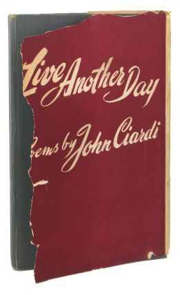 Live Another Day: Poems [Inscribed and Signed]
