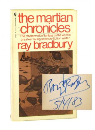 The Martian Chronicles [Inscribed and Signed]. Ray Bradbury