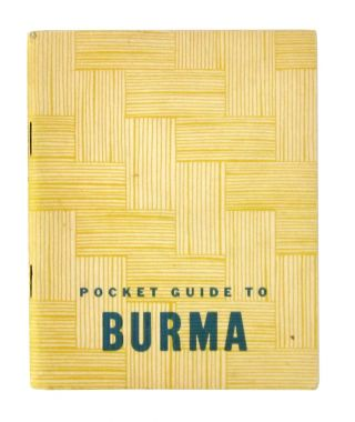 A Pocket Guide to Burma. War, Navy Departments
