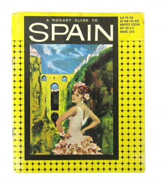 A Pocket Guide to Spain. Armed Forces Information, Department of Defense Education