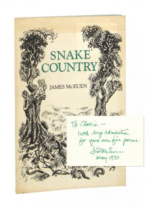 Snake Country [Inscribed and Signed]. James McEuen