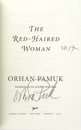 The Red-Haired Woman [Signed and Dated by the Author]