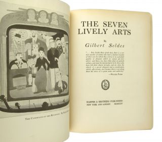 The Seven Lively Arts [Cover title: The 7 Lively Arts]