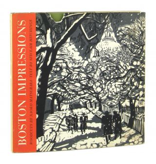 Boston Impressions. Naoko Matsubara, Sinclair Hitchings, woodcuts, text
