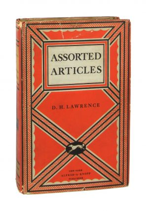 Assorted Articles. D H. Lawrence