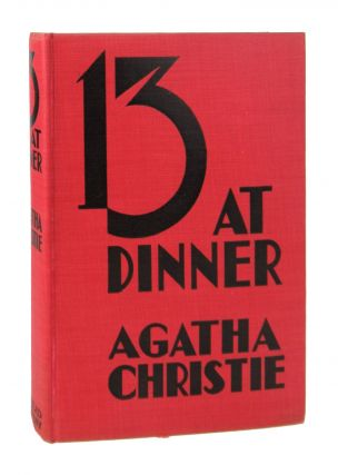 Thirteen At Dinner [Cover title: 13 At Dinner]. Agatha Christie
