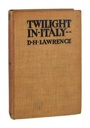 Twilight in Italy. D H. Lawrence