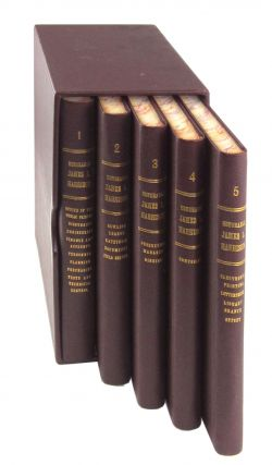 Five-Volume Tribute Set for the Honorable James L. Harrison, Public Printer. 939 GPO Employees...