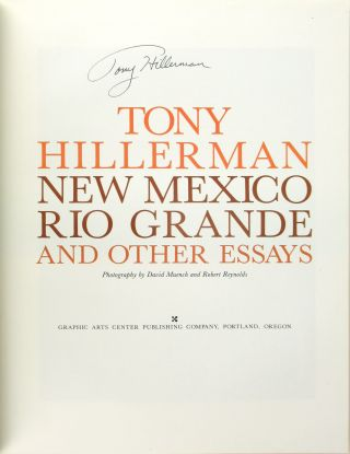 New Mexico, Rio Grande, and Other Essays [Signed]