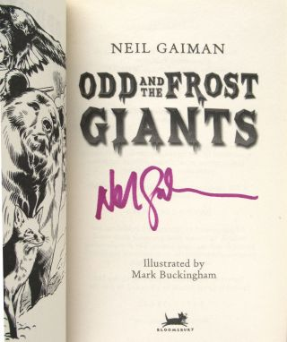 Odd and the Frost Giants [Signed]