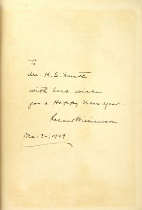 The Law Library in the Capitol, Washington, D.C. [Inscribed and Signed]
