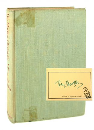 The Martian Chronicles [Signed Bookplate Laid in]. Ray Bradbury