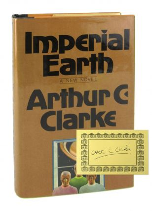 Imperial Earth [Signed Bookplate Laid in]. Arthur C. Clarke