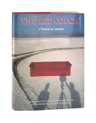 The Red Couch: A Portrait of America [Bookplate Signed by Heat Moon Laid in]. Kevin Clarke, Horst...