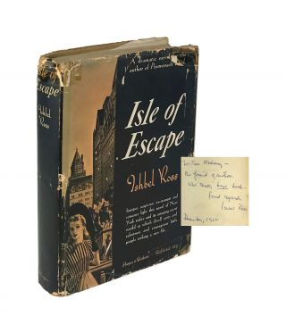 Isle of Escape [Signed]. Ishbel Ross