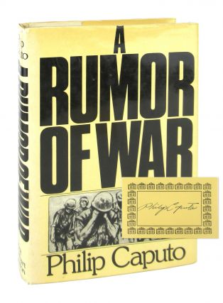 A Rumor of War [Signed Bookplate Laid in]. Philip Caputo