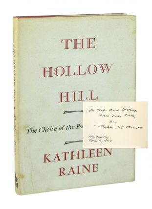 The Hollow Hill and Other Poems, 1960-1964 [Signed]. Kathleen Raine