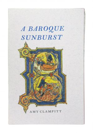 A Baroque Sunburst. Amy Clampitt