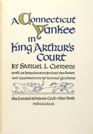 A Connecticut Yankee in King Arthur's Court [Signed by the Illustrator]