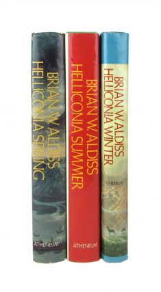 Helliconia Trilogy [with] Helliconia Spring; Helliconia Summer; Helliconia Winter [Signed Bookplates Laid in]