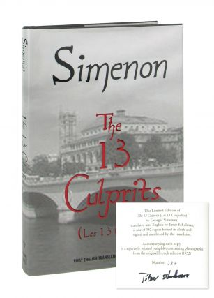 The 13 Culprits (Les 13 Coupables) [Signed by translator]. Georges Simenon, Peter Schulman, trans