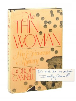 The Thin Woman: An Epicurean Mystery [Signed]. Dorothy Cannell