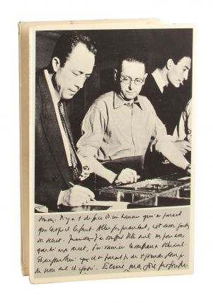 Albert Camus and the Men of the Stone [Limited Edition]. Albert Camus, Robert Proix, Gregory H....