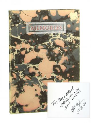 Memories: Stories by Robert Hughes [Signed]. Robert M. Hughes, Barry Moser