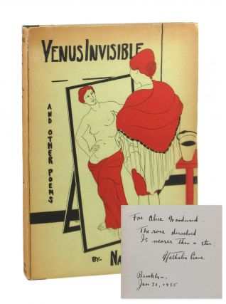 Venus Invisible and Other Poems [Signed]. Nathalia Crane, Ruth Jonas