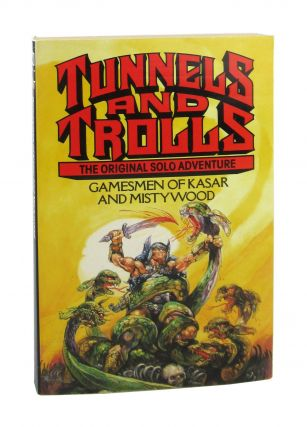 Gamesmen of Kasar and Mistywood [Tunnels and Trolls Adventure Book]. Roy Cram, Josh Kirby