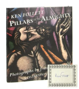 Pillars of the Almighty [Signed Bookplate Laid in]. Ken Follett, f-stop Fitzgerald, Simon Verity,...