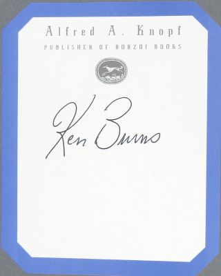 The National Parks: America's Best Idea - An Illustrated History [Bookplate Signed by Burns]