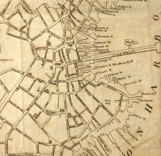 A Plan of Boston from Actual Survey