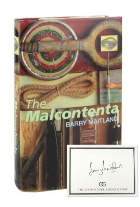 The Malcontenta [Signed Bookplate Laid in]. Barry Maitland