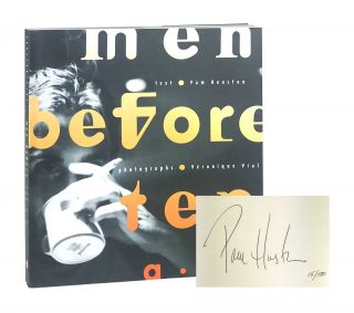 Men Before Ten A.M. [Limited Edition, Signed]. Pam Houston, Véronique Vial, photography