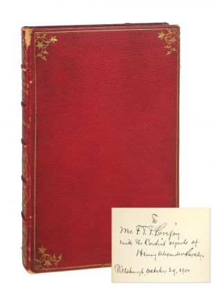 The Heart's Choice and Other Poems [Signed to F.T.F. Lovejoy]. Henry Alexander Lavely